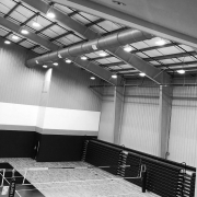 Volleyball Court Ductwork